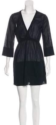 Malia Mills Long Sleeve A-Line Dress