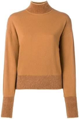 Alberta Ferretti mock neck sweater