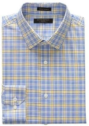 Banana Republic Grant Slim-Fit Non-Iron Plaid Shirt