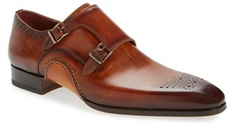 Men's Magnanni 'Apolo' Double Monk Strap Shoe $495 thestylecure.com