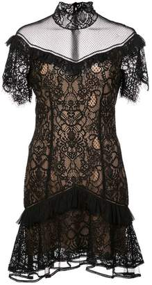 Jonathan Simkhai lace detail dress