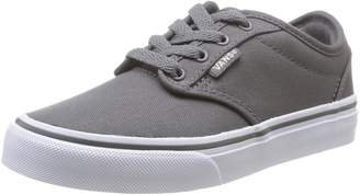 Vans Vans' Boys' Atwood Lace Up Sneaker Pewter 3 M US