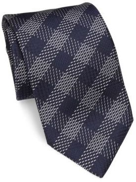BrioniBrioni Patterned Silk Tie