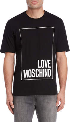Love Moschino Box Logo Tee