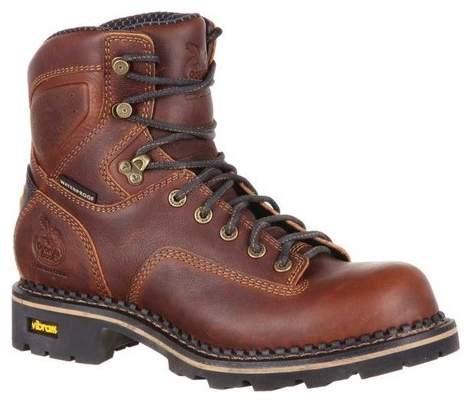 "Georgia Boot Men's GB00164 6"" Comfort Core Logger WP CT Work Boot"