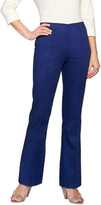 C. Wonder Petite Flare Leg Pants with Seaming Detail