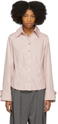 Marques Almeida Pink Princess Line Shirt