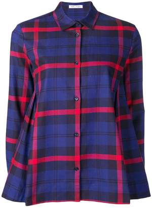 Peter Taylor check long-sleeve shirt