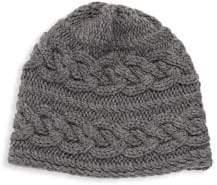 Portolano Cable-Knit Merino Beanie