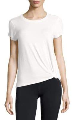 Knotted Short-Sleeve Tee