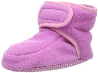 Playshoes GmbH Fleece Baby Shoes Crawling (Pink), 2.5 Child UK EU