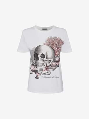 """Alexander McQueen Cabinet Of Shells"""" T-Shirt"""
