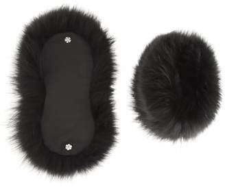 Valentino fur cuffs