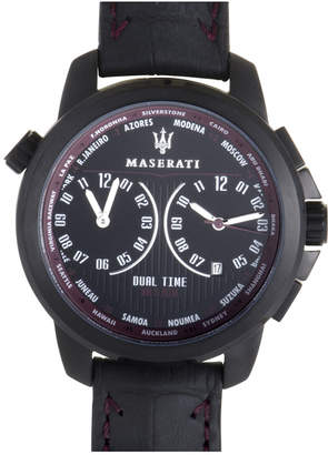 Maserati Men's Leather Watch