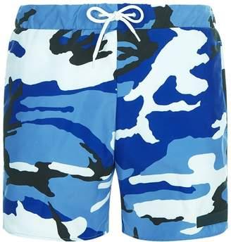 Sandro Camouflage Swim Shorts