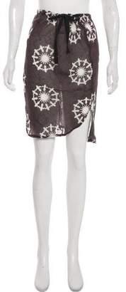 Ann Demeulemeester Printed Knee-Length Skirt