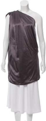 Ramy Brook Silk One-Shoulder Blouse