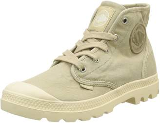 La Redoute Palladium Womens Pampa Hi High Top Lace-Up Trainers