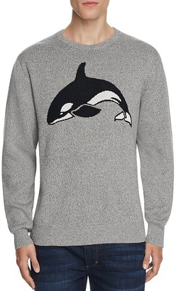 Barney Cools Killa Whale Crewneck Sweater $99 thestylecure.com