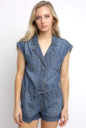 9fc757bba074 Sanctuary Rolled Sleeve Denim Romper