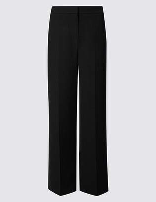 Marks and Spencer Crepe Wide Leg Trousers