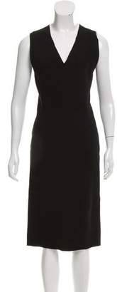 Bottega Veneta Sheath Midi Dress