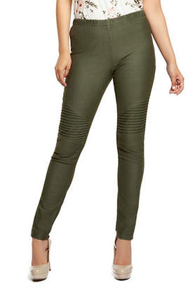 Dex Moto Slanted Leggings