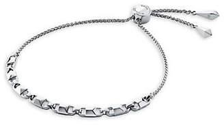 Michael Kors Mercer Sterling Silver Chain Bracelet