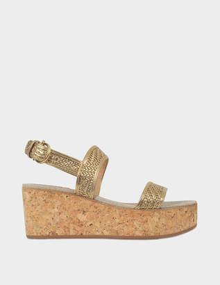 Salvatore Ferragamo Euritea cork wedge sandals