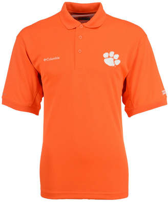 Columbia Men's Clemson Tigers Collegiate Perfect Cast Polo Shirt