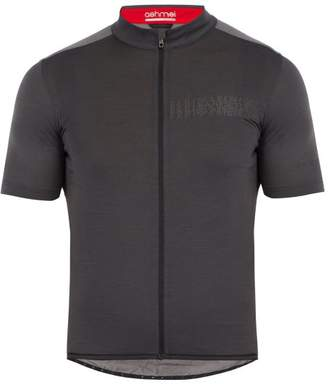 Ashmei - Paris Roubaix Cycling Jersey - Mens - Dark Grey