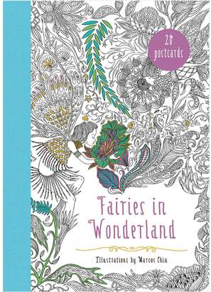 Harper Collins Fairies in Wonderland 20 Postcards