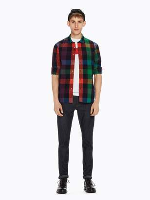 Scotch & Soda Checked Cotton Shirt Regular fit