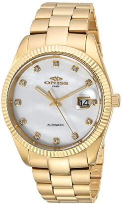 Oniss Paris 'Allure-X Collection' Japanese Automatic Stainless Steel Dress Watch