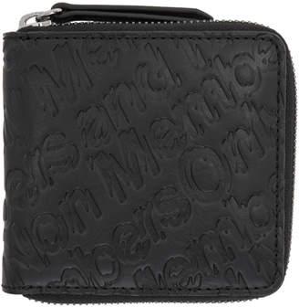 Stella McCartney Black Members Zip Wallet