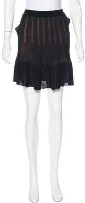 Alaia Knit Mini Skirt
