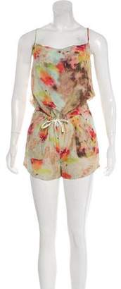 Obakki Printed Sleeveless Romper