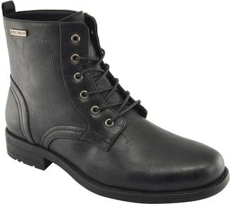 Black Zack Combat Boot $59.99 thestylecure.com