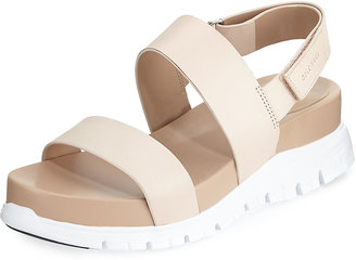 Cole Haan Zerogrand Smooth Leather Sandal $119 thestylecure.com