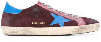 star-print sneakers
