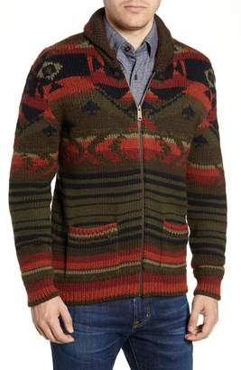 Faherty Winter Woods Wool Blend Cardigan