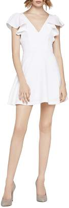 BCBGeneration Women's Angel-Wing Fit-&-Flare Dress