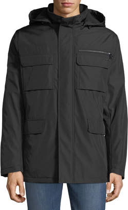 Iconic American Designer Men's Four-Pocket Zip-Front Jacket