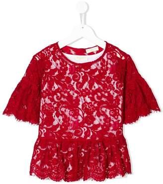 MonnaLisa floral lace blouse