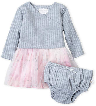 Rosie Pope Baby (Newborn Girls) Two-Piece Space Tutu Dress & Bloomers Set