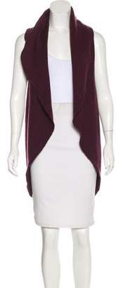 Richard Chai Wool Sleeveless Cardigan