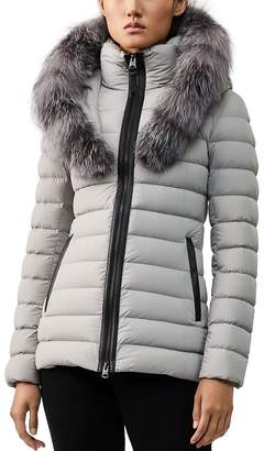 Mackage Kadalina Fox Fur-Trim Down Coat