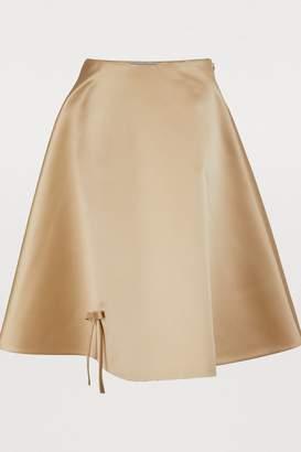 Prada Silk midi skirt