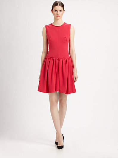 Carven Fit-and-Flare Dress