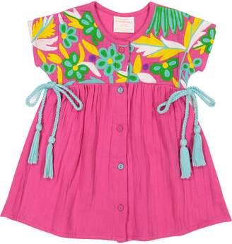 Masala Baby Aasha Floral Crochet Dress